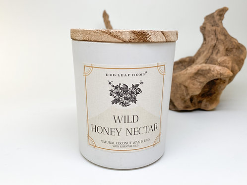 Red Leaf Home - Wild Honey Nectar Wax Blend Candle 11 oz