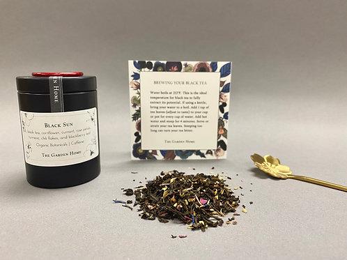 Organic Black Tea - Black Sun - Caffeinated