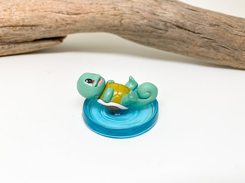 Pokemon Figurine - Squirtle in Water
