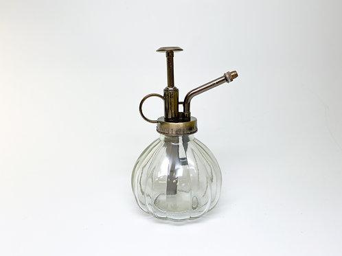 Glass Spray Bottle Vintage Style Bronze Spritzer