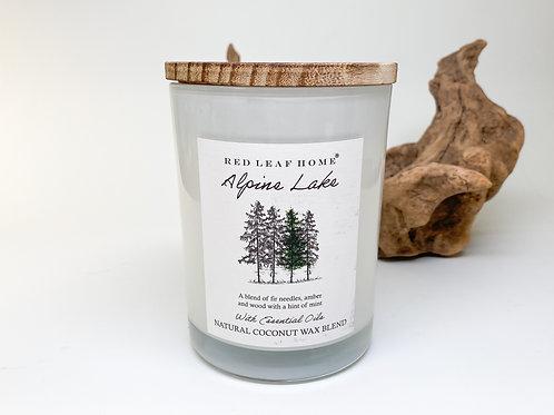 Red Leaf Home - Alpine Lake Wax Blend Candle 15.5 oz