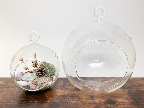 Extra-Large Versatile Orb Globe Terrarium Glass