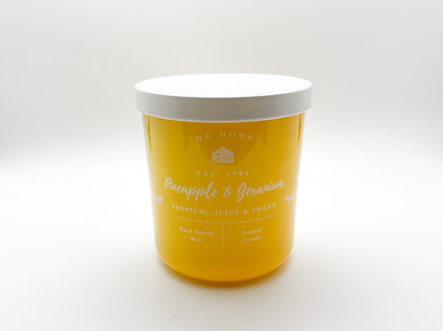 DW Home - Pineapple and Geranium - 8.5 oz. Natural Soy Candle