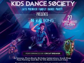KIDS DANCE SOCIETY & DJ KAI SONG HIT WEST END NIGHTCLUB SANTA MONICA!