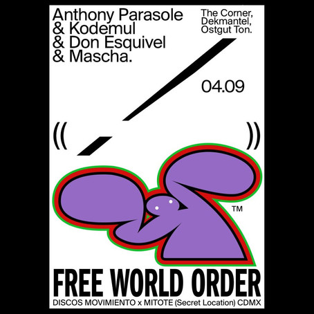 Anthony Parasole en CDMX