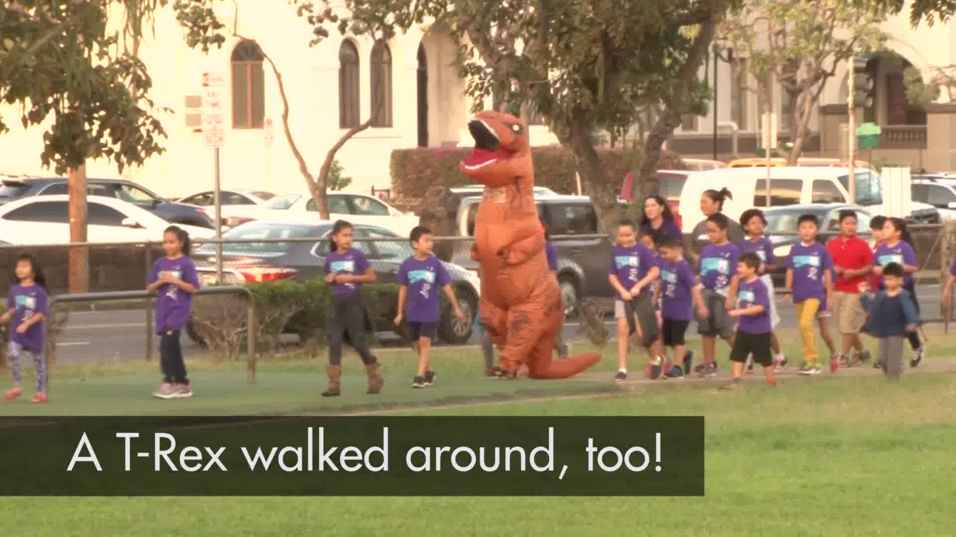 Morning Mile at Ali'iolani Elementary