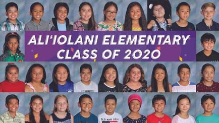 Ali'iolani Class of 2020