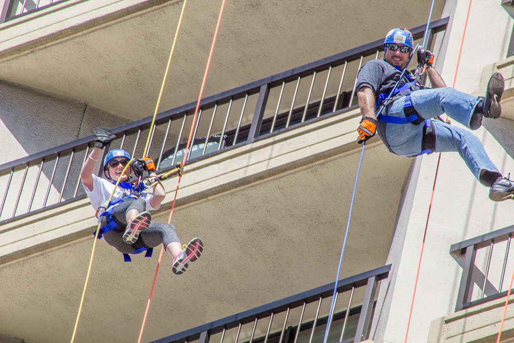 Over the Edge - Team Ali'iolani