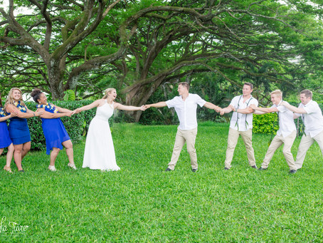 Beautiful Oahu Wedding at Kualoa Ranch