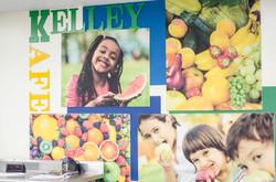 Kelley Kafe Real Food Name Board