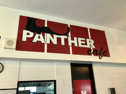 Panther Cafe Name Board