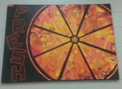 Orange Abstratc