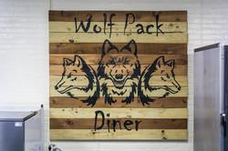 Wolf Pack Diner Name Baord