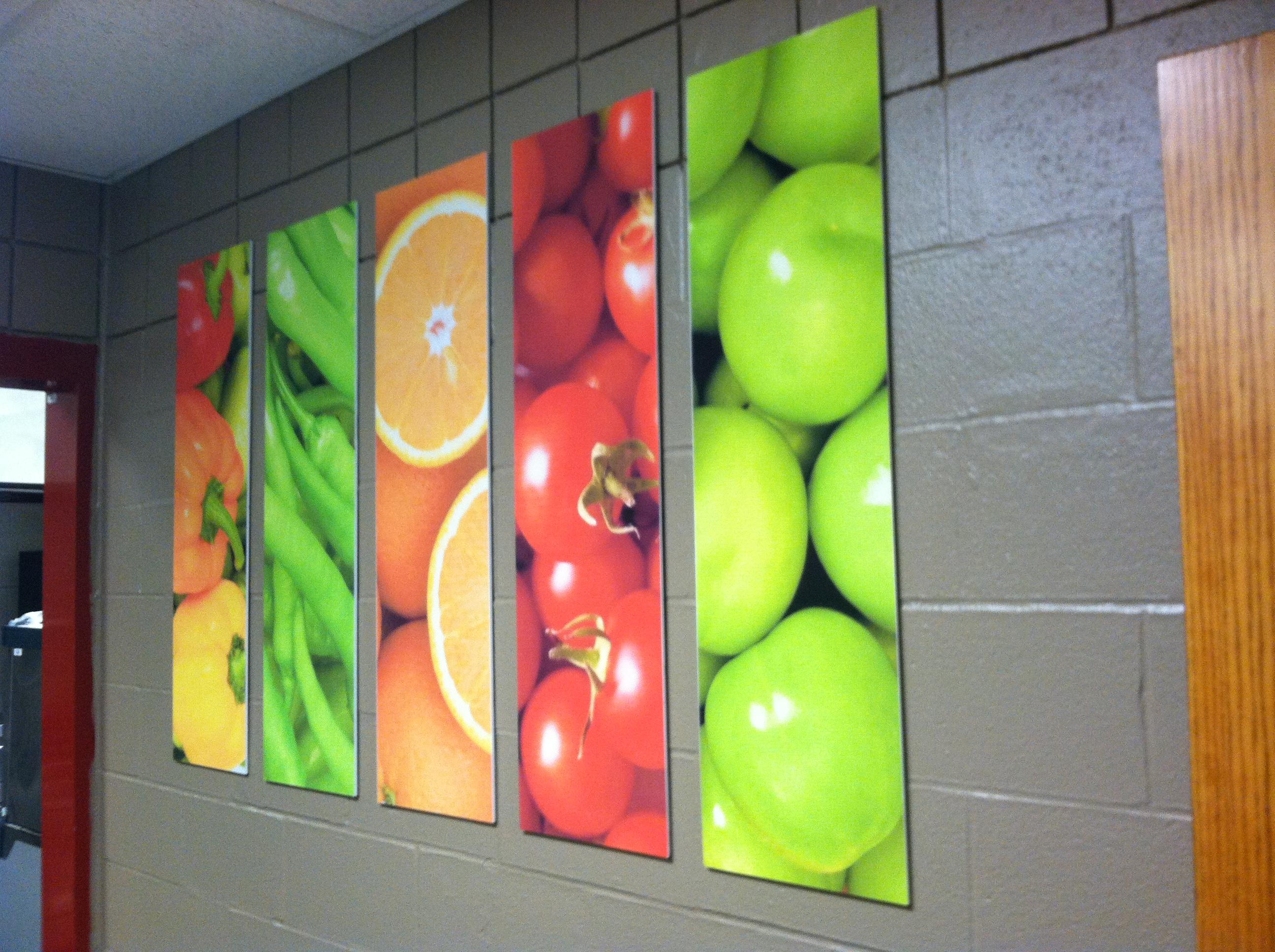 Fruit & Veggie COlumns
