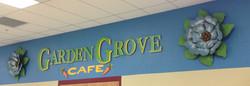 Garden Grove Cafe Name Board