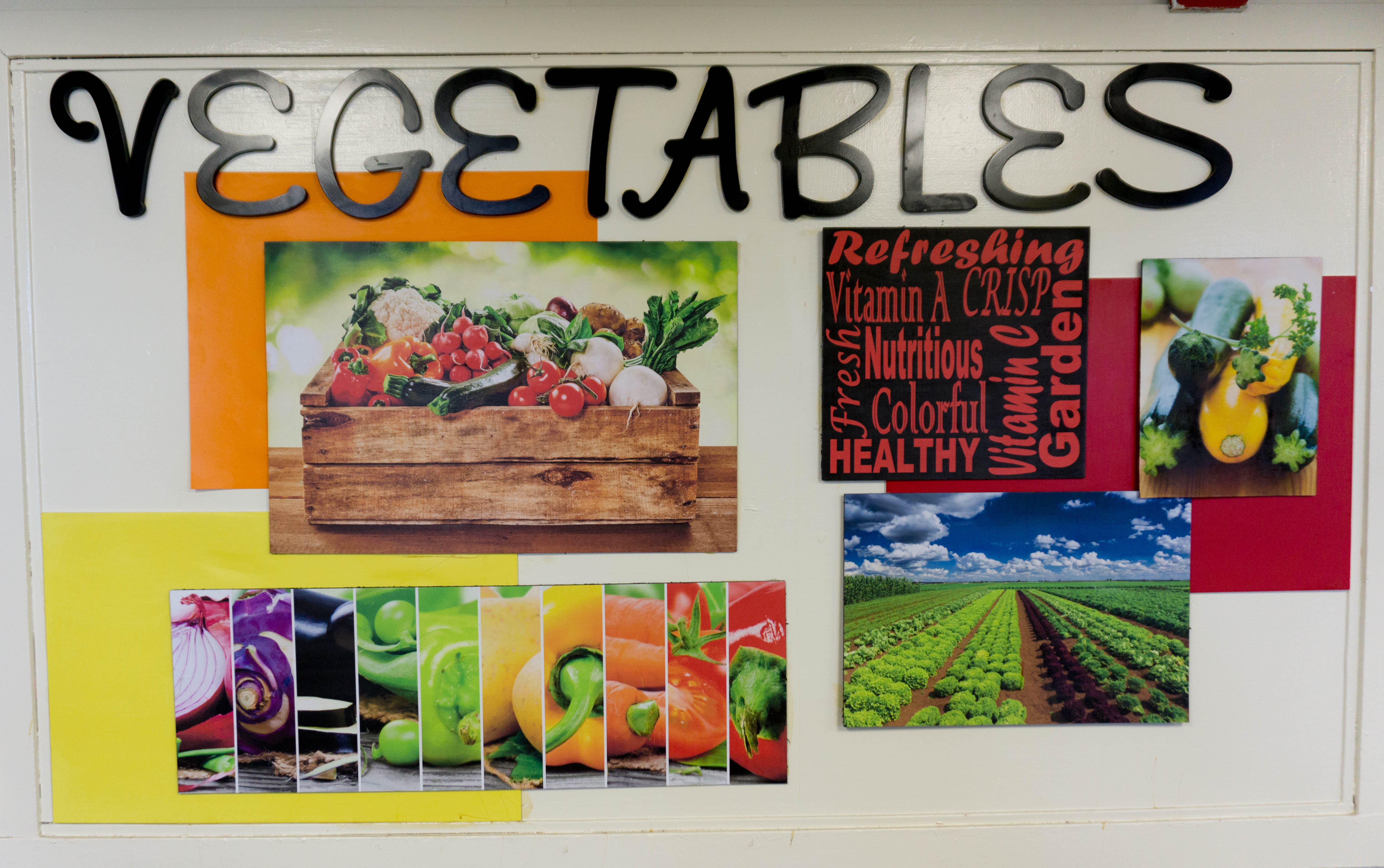 Vegetable Collage