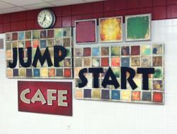 Jump Start Cafe Name Board
