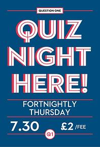 thursday night pub quiz
