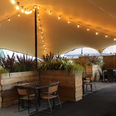 Covered Beer Garden