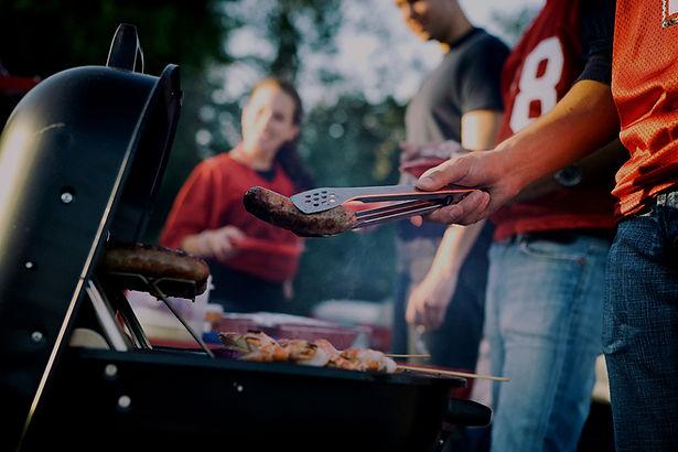 Barbecue extérieur
