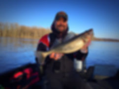 Matt Quick Outdoors Guide Service Walleye Fishing