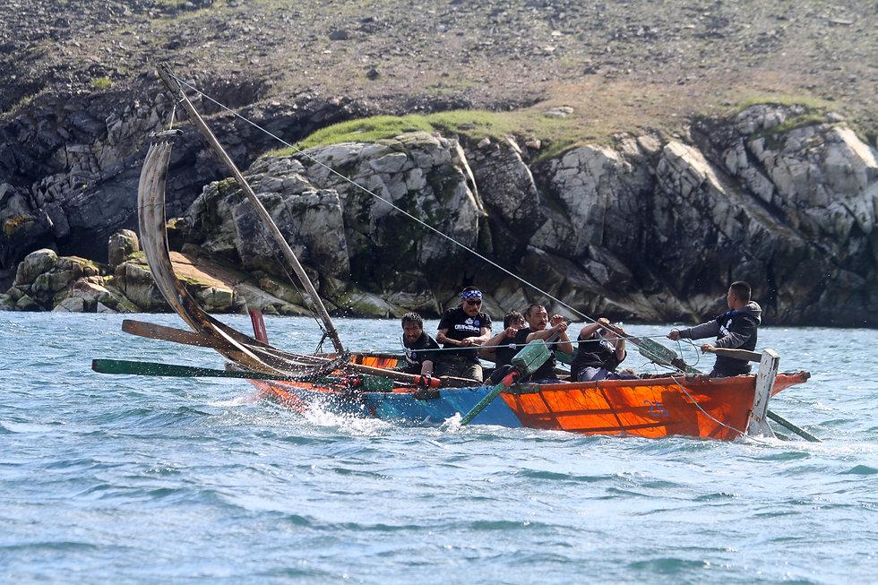 Skin Boat Bering Strait Copyright Mille