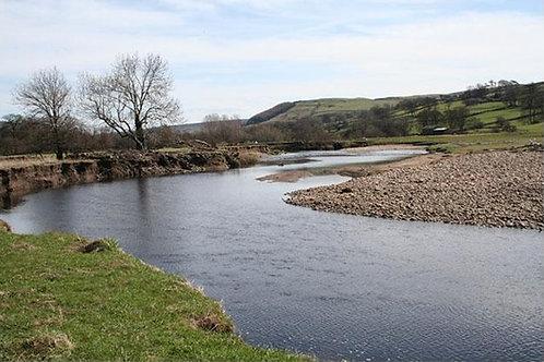 Reeth Tees river North Yorks