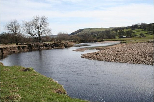 river tees at reeth