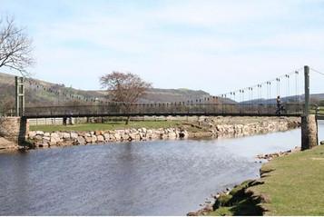 reeth suspension bridge