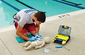 Emergency Life Support and Safe Ue of an External Defibrillator