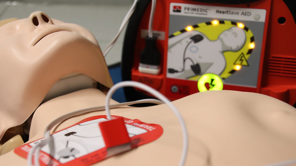 Level 2 Basic Life Support & Safe Use of an Automated External Defibrillator