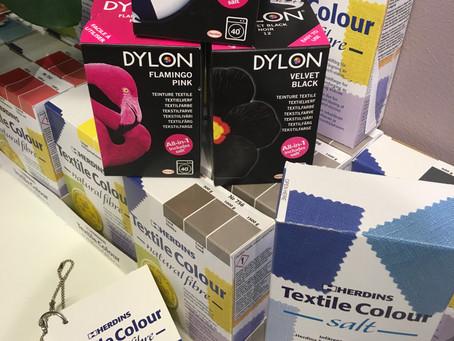 Frisk opp med tekstilfarge!