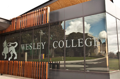 Wesley College building