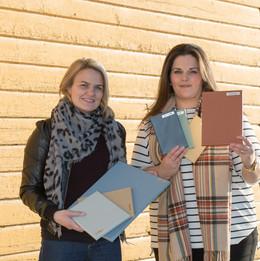 Agathe Eiksund og Laila Lillerovde