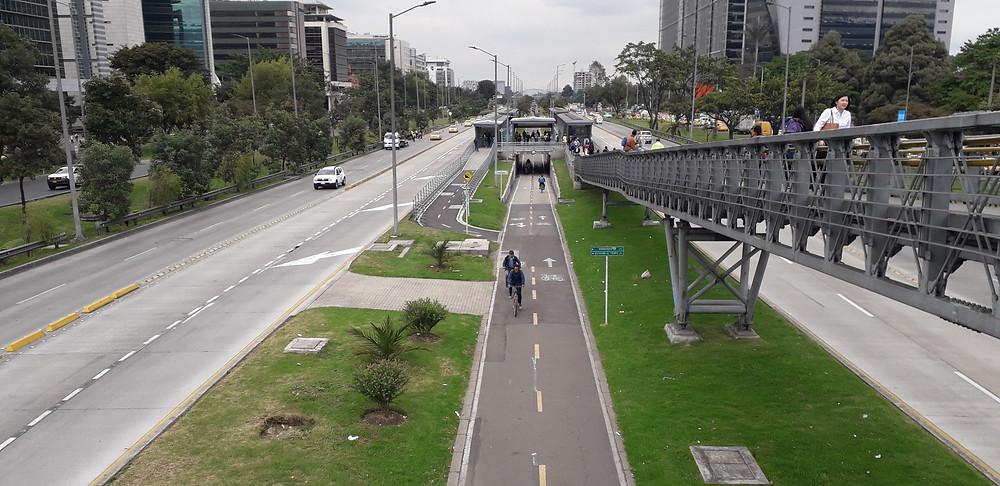 Ciclovía Bogotá Colombia