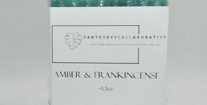Amber & Frankincense Hair and Body Bar