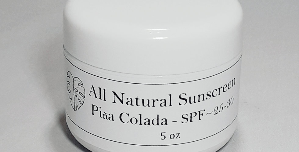 All Natural Sun Protection SPF 25-30
