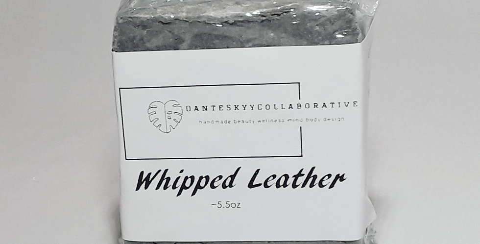 Whipped Leather Hair & Body Bar