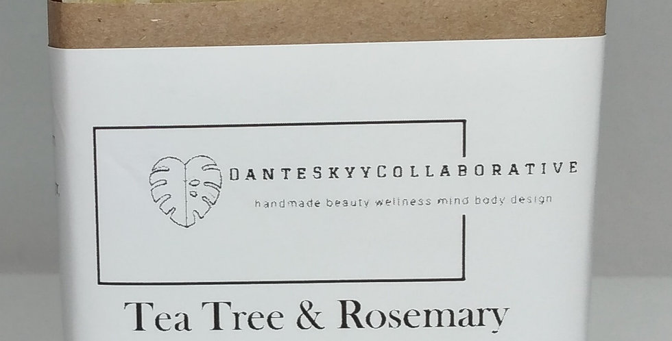 Tea Tree & Rosemary Sugar Bar