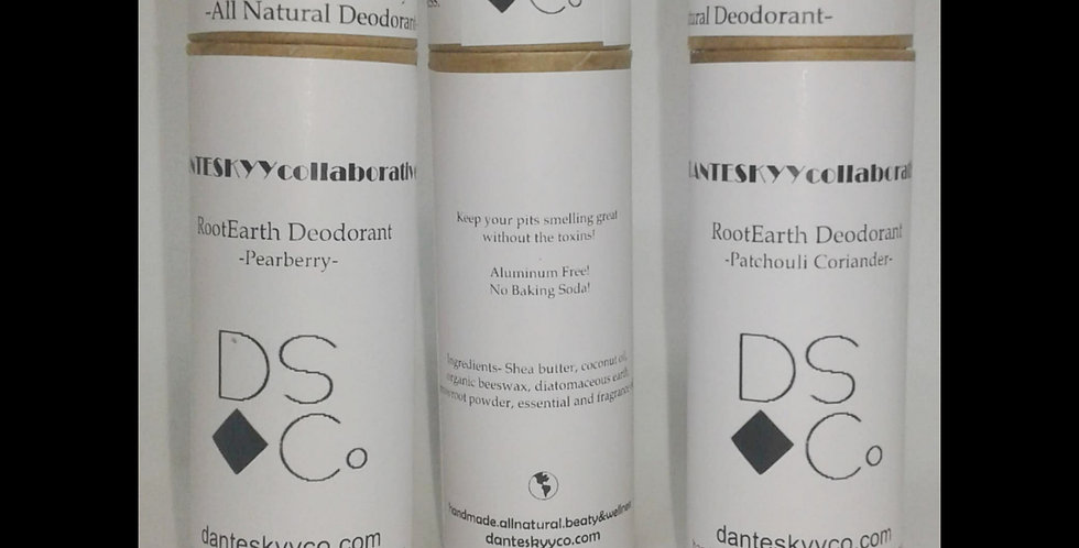 RootEarth Deodorant 3-pack