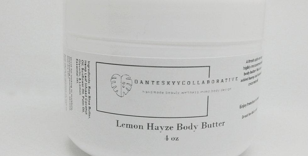 Lemon Hayze Body Butter