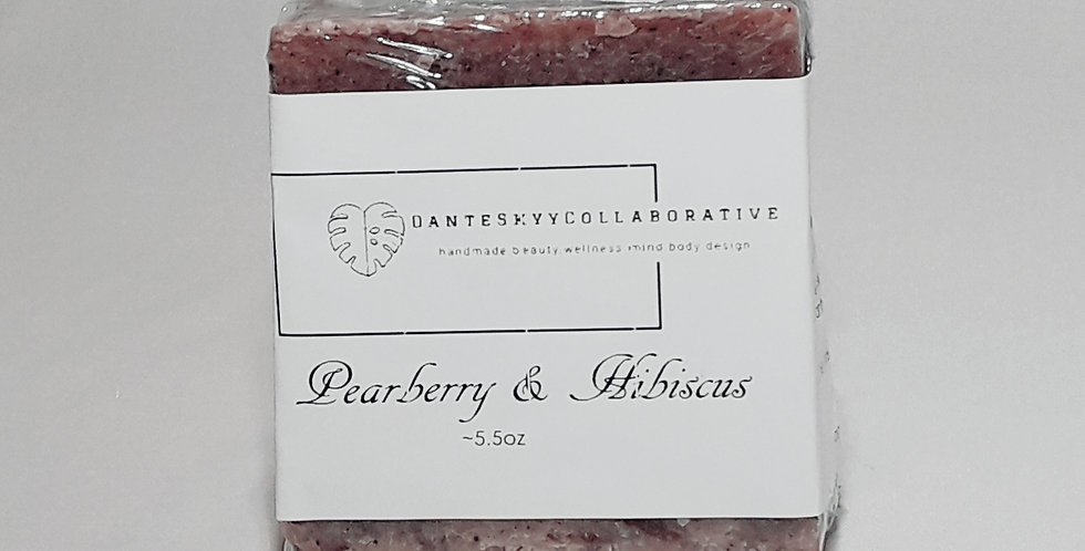 Pearberry & Hibiscus Face & Body Bar