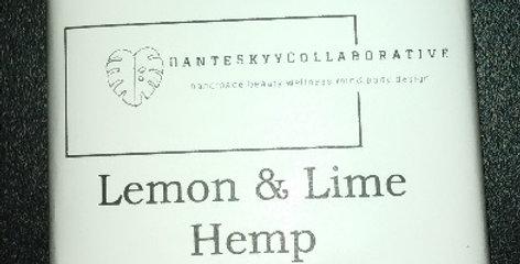 Lemon & Lime Hemp Bar