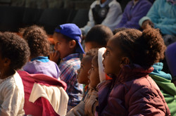children at the theatre