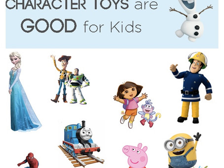 3 Reasons Why Character Toys are Good for Kids