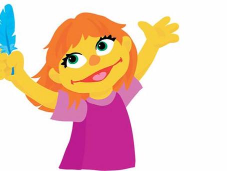 Meet Julia, Sesame Street's new character, who has Autism.