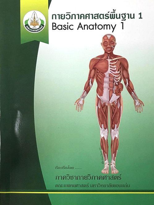 กายวิภาคศาสตร์พื้นฐาน 1 - Basic Anatomy 1