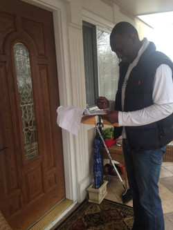 Canvassing for Dems