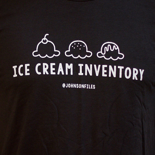 Ice Cream Inventory T-shirt