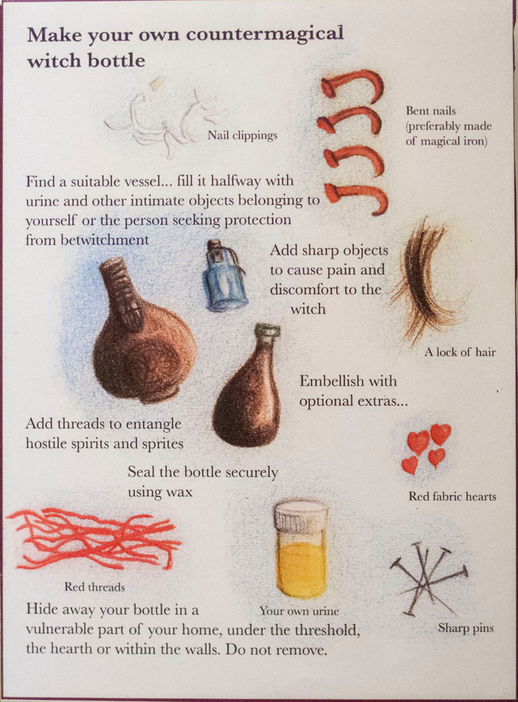Make your own witch bottle